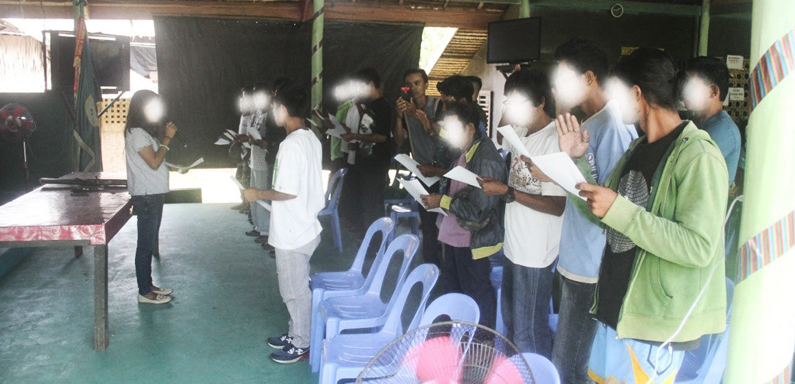 16 Communist Terrorists surrender in Sibugay