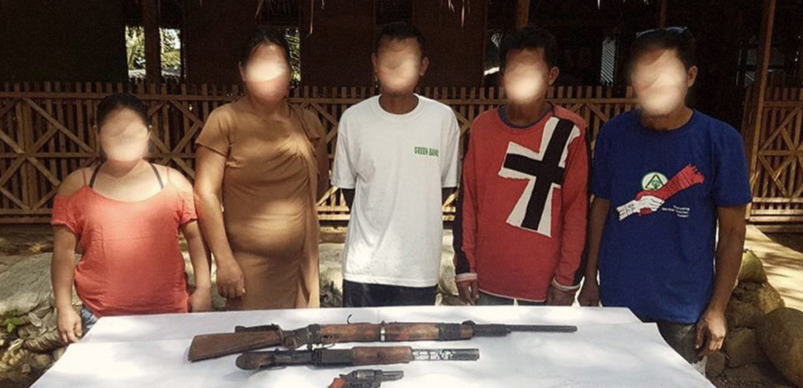 Five NPA members surrender in Agusan del Sur