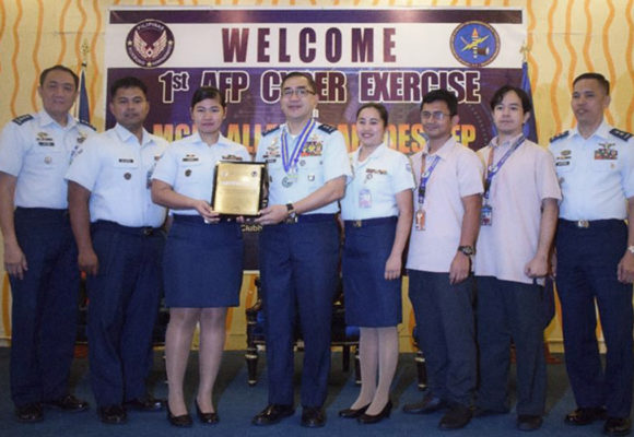 PAF wins the 1st AFP Cyber Exercise