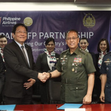 PAL gives AFP personnel 20% discount