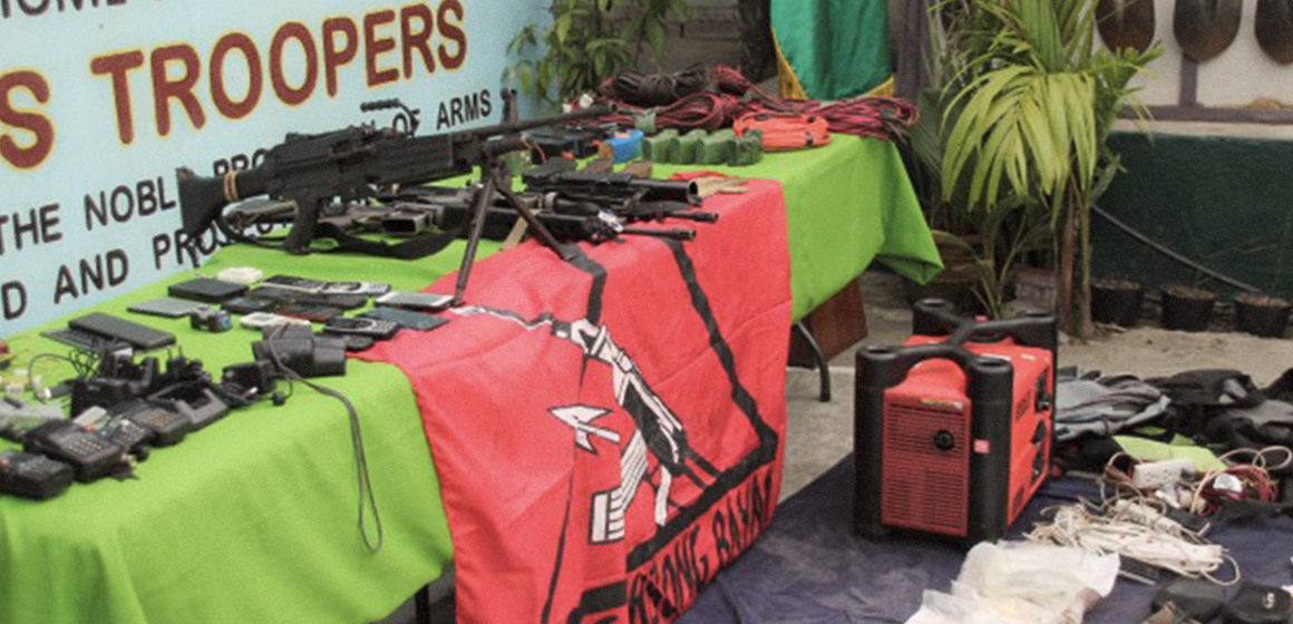 Army overruns NPA camp in Ifugao, seizes high-powered firearms