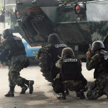 PNP alerts security forces vs 'lawless violence'