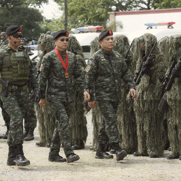 PNP deploys SAF in areas covered by MO 32