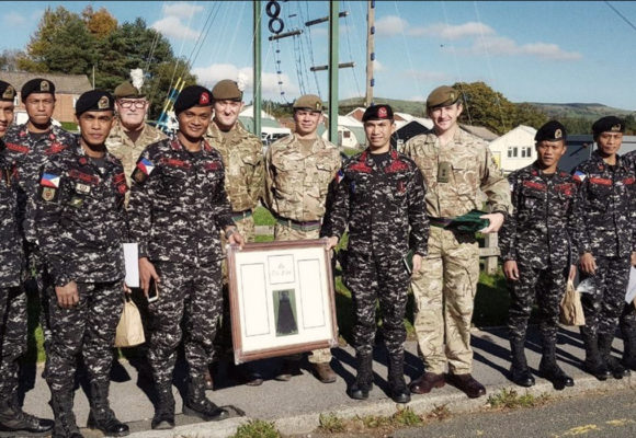 Scout Rangers feted for good showing in UK exercise