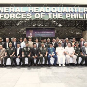 MILF chair Murad visit to bolster ties with AFP, gov't