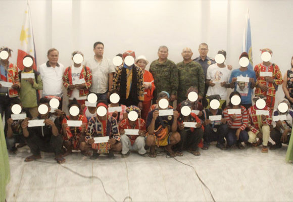 23 former rebels receive financial assistance under E-CLIP