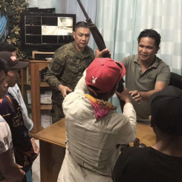 6 Communist rebels surrender in Sultan Kudarat