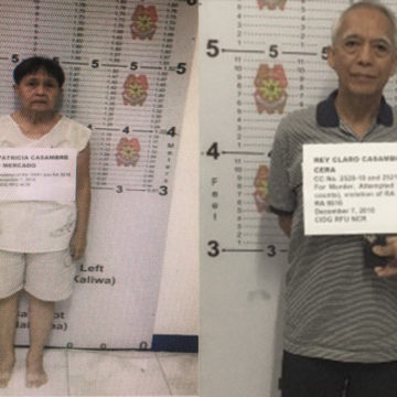 Top CPP leader, wife nabbed in Cavite
