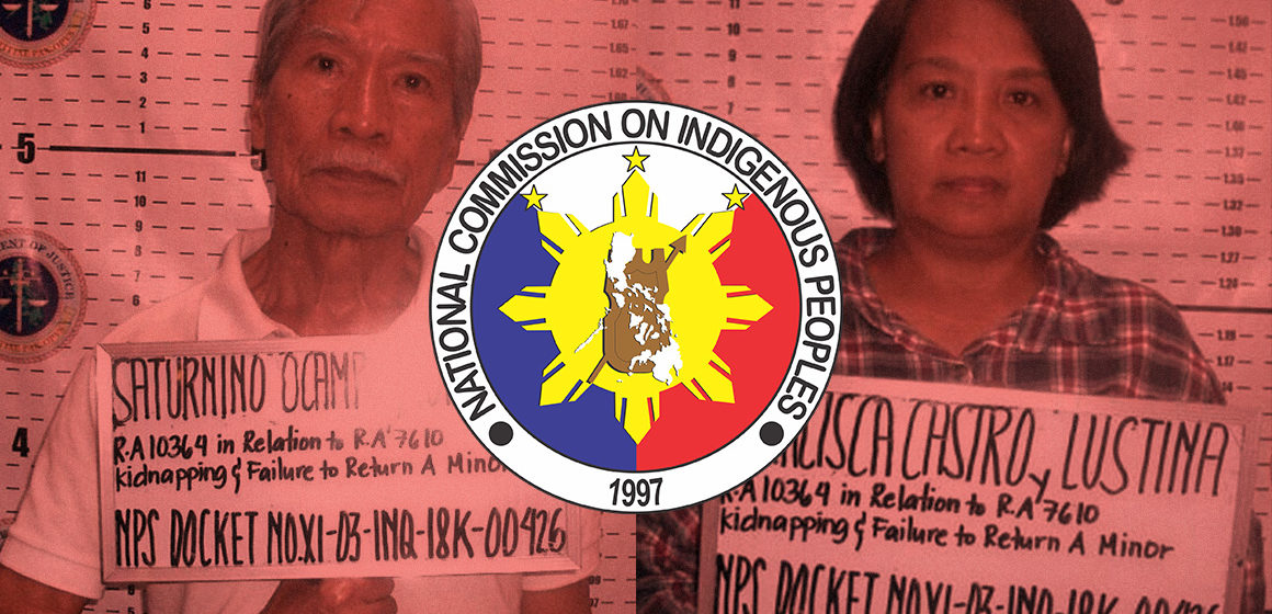 NCIP condemns Satur Ocampo for alleged trafficking of minors