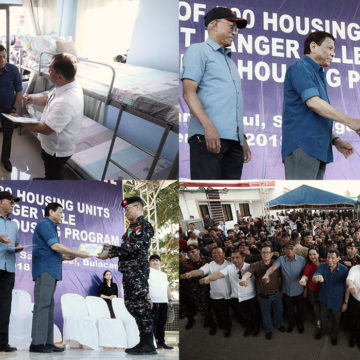 PRRD awards 1st 500 housing units to Army Scout Rangers