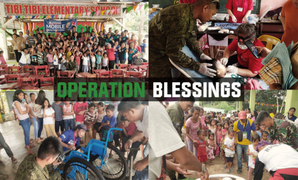 Operation Blessings to Lumads
