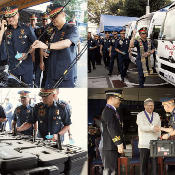 PNP gets P694-M new equipment
