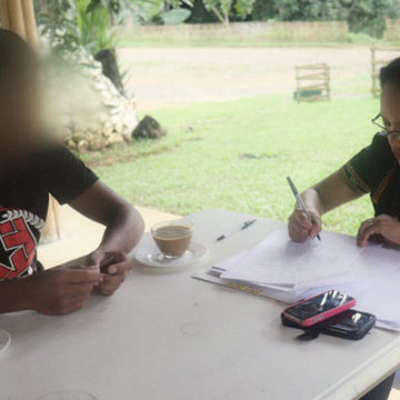 Teenage NPA Member Surrenders in Oroquieta City