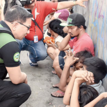 PDEA to file cases of child abuse and neglect against parents of rescued minors in Navotas