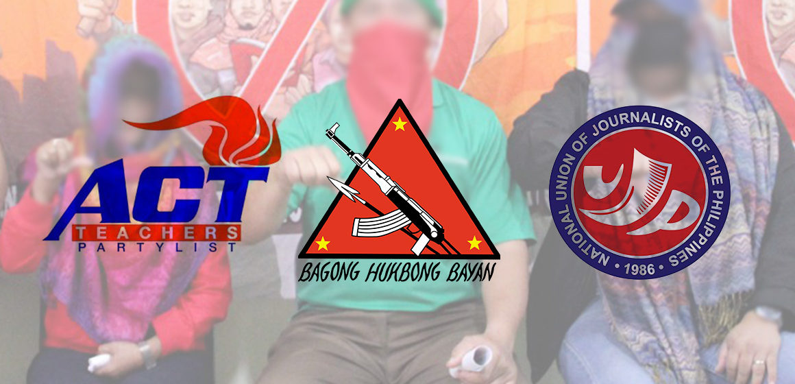Ex-rebels bare ACT, NUJP alleged links to Reds