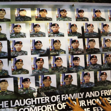 SAF 44 gallantry did not go in vain: Magalong