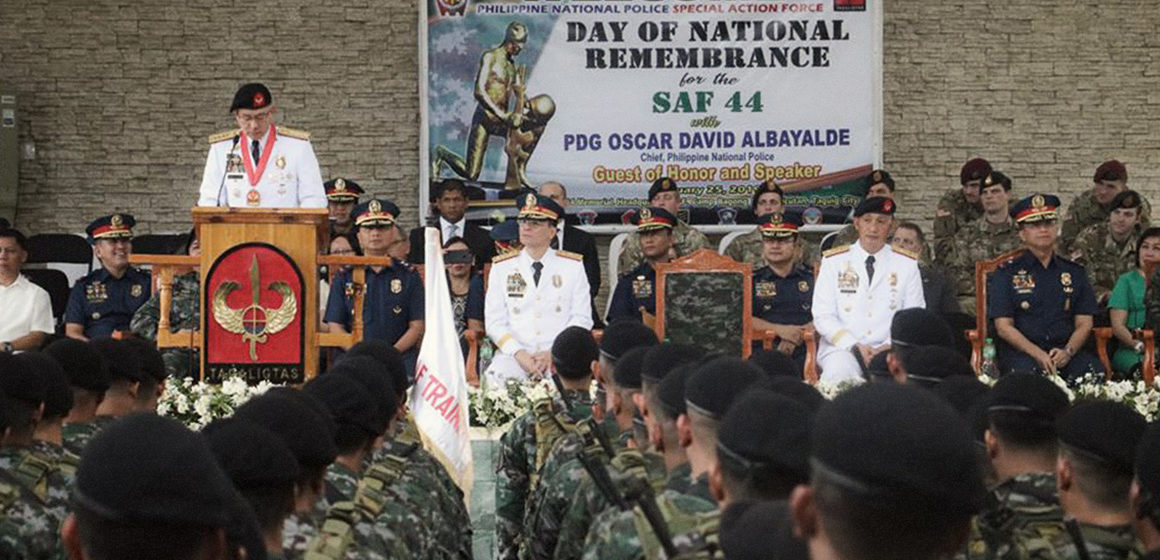 Make great sacrifices for PH, Albayalde to SAF troops