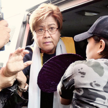 Treatment of de Lima more than humane: PNP