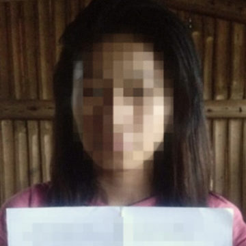 15-year-old NPA child warrior surrenders in Capiz