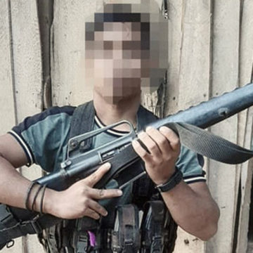 NPA terrorist leader surrenders in Davao del Norte