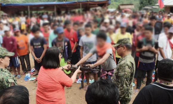 86 NPA, supporters surrender to government