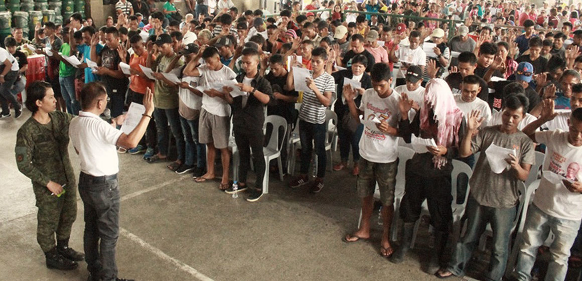 219 NPA members, supporters pledge loyalty to the government