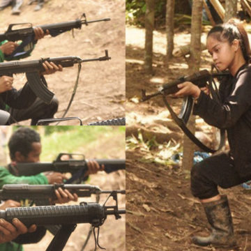 Military denies coercion claims on surrendered NPA 'amazon'