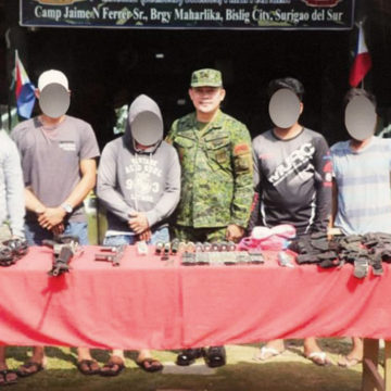 6 NPA terrorists surrender in Surigao del Sur