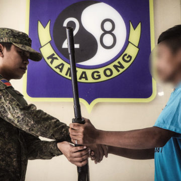 6 NPA terrorists surrender in Davao Oriental