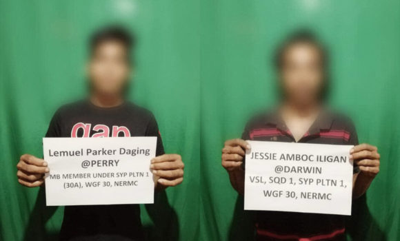 2 NPA terrorists surrender in Surigao del Sur